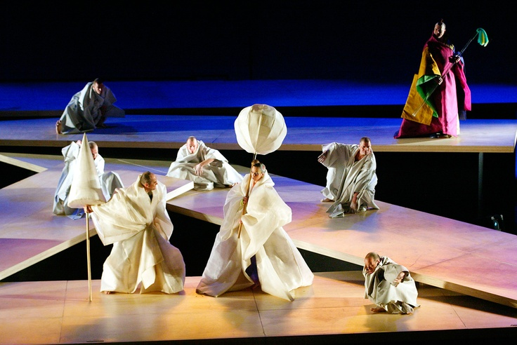 Angelo Figus for 'Tea, A Mirror of Soul' Opera 2004