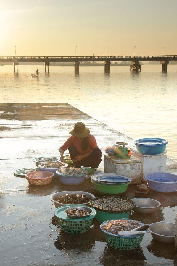Fish Market in Hoi An, Vietnam