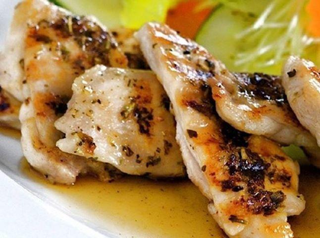 Almoço de hoje: Peito de Frango Grelhado na Mostarda! - Aprenda a preparar essa maravilhosa receita de Peito de Frango Grelhado no Grill na Mostarda