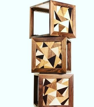 Get a game changing piece into you interiors. Made from rippled sycamore oak wenge and walnut wood each shelving cube of this cabinet by Turner Furniture revolves independently off the other making it a stylish statement to flaunt.  #wood #design #interior #furniture #cabinet #unique #designercabinet #bespoke #luxuryfurniture #woodworks #roomfurniture #home #interiordesign