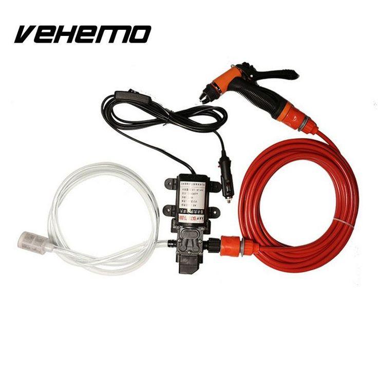 Vehemo 12 V Auto Elektrische Waschmaschine Waschen Pumpe Sauber <font><b>Kit</b></font> Hochdruck 130PSI 6L/Min 70 Watt Auto Care Set Portable Washer Für BMW AUDI #Vehemo, #Auto, #Elektrische, #Waschmaschine, #Waschen, #Pumpe, #Sauber, #-font-b-Kit-b--font-, #Hochdruck, #--PSI, #-L-Min, #Watt, #Care, #Portable, #Washer, #Für, #AUDI