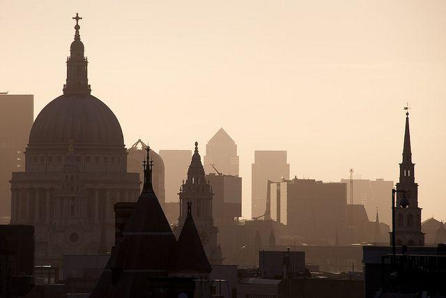 London Skyline by Bernardo Ricci Armani