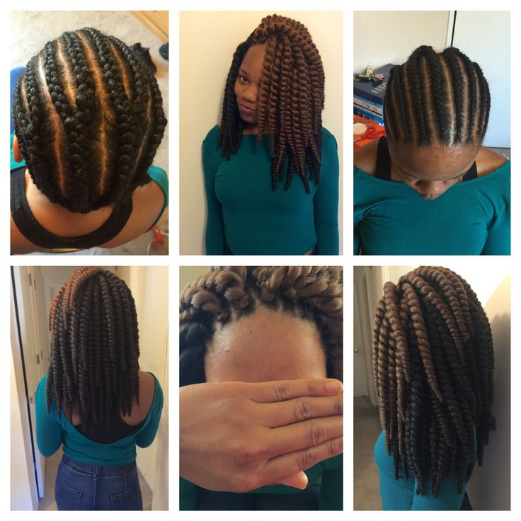 Crochet Braids Short Tapered Natural Style Youtube ...