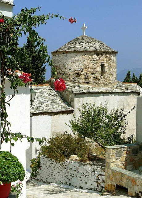 Church in Alonissos Island by Howard Somerville on Flickr.