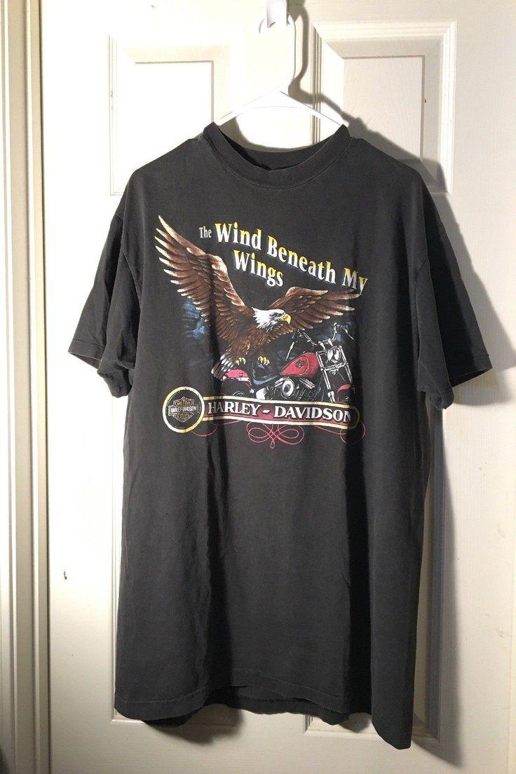 70 00 Vintage Harley Davidson T Shirt L Vintage Harley Davidson Shirt Romance Market Hai Harley Davidson T Shirts Vintage Harley Davidson Clothes