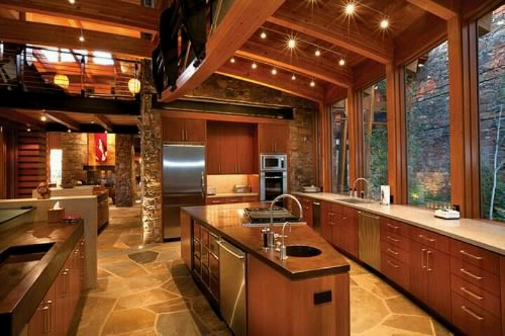 Million Dollar Home Kitchens