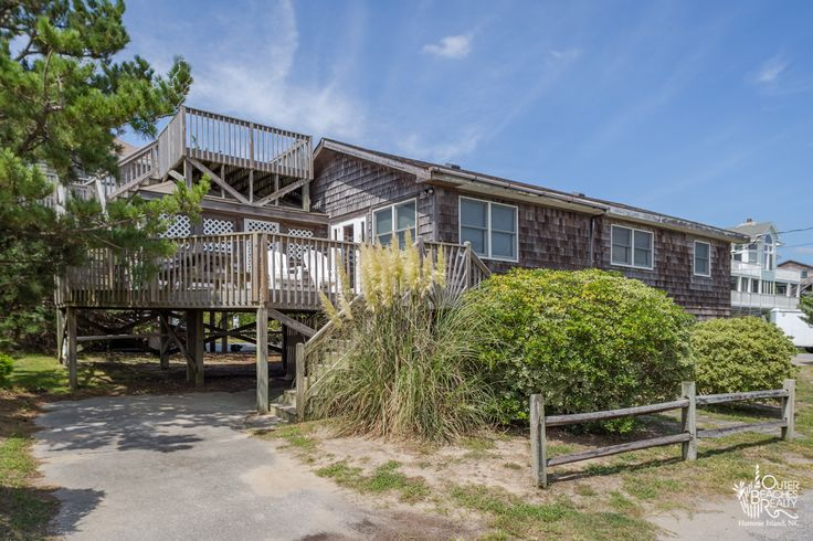 4 Salty Paws {147} is a 3 bedroom, 2 bathroom Semi Oceanfront vacation rental in Avon, NC. See photos, amenities, rates, availability and more details to book today! | Outer Banks Vacation Rentals on Hatteras Island, NC - Outer Beaches Realty | #NEW2OBR