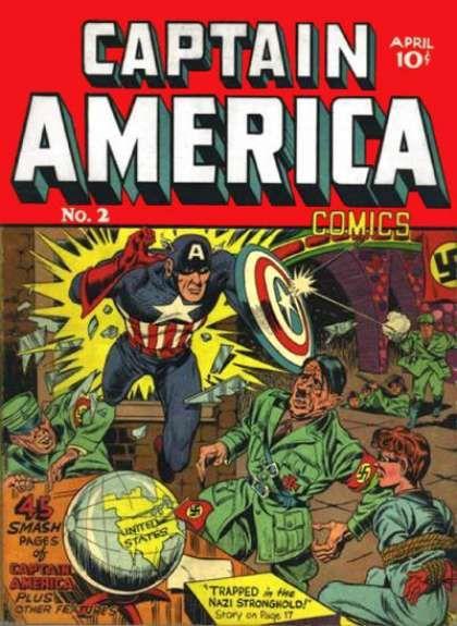 Captain America 2 - Nazis - Nazi Stronghold - Prisoner - Globe - Soldiers The First Avenger Marvel