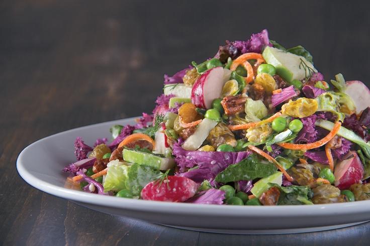 Our new seasonal salad: the Spring Market Vegetable Salad!