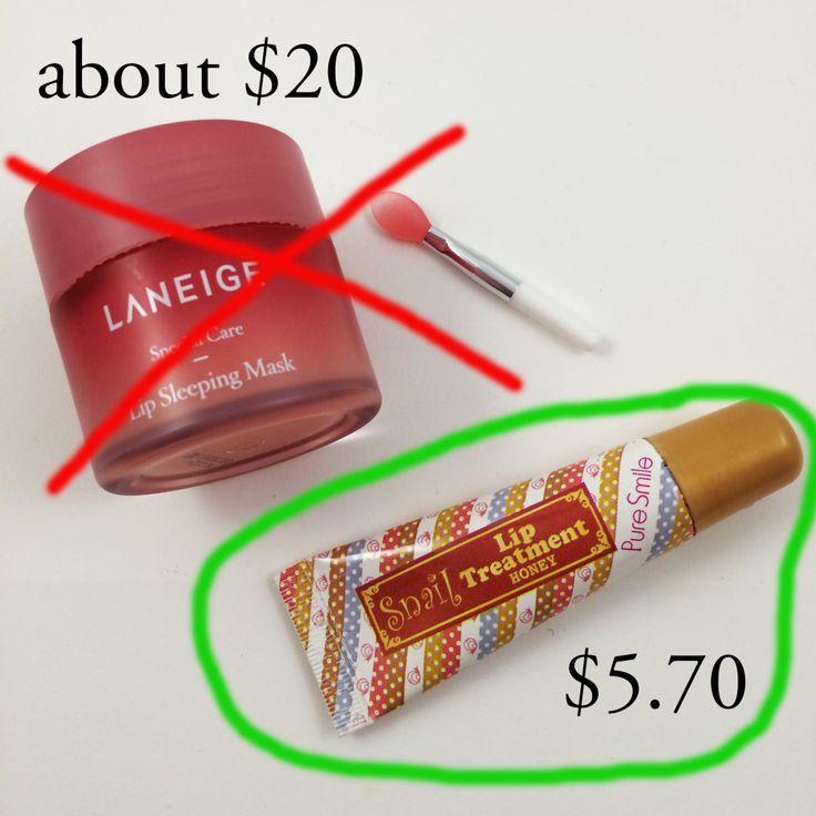 Laneige Lip Sleeping Mask vs Pure Smile Lip Treatmentfanb