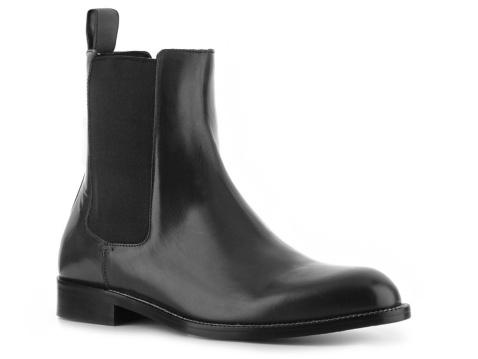 Gucci Men's Fine Grain Leather Boot