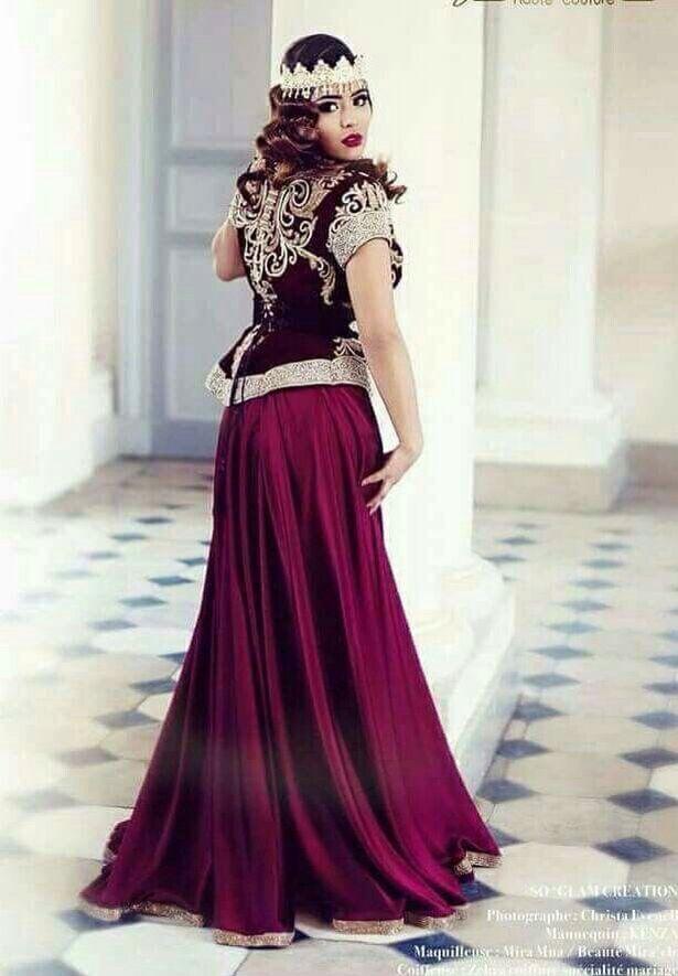 Algerian Fashion: karakou