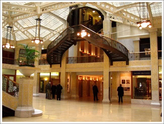 Chapter 21 Chicago School Interior Design Main Lobby Rookery Building Chicago Illinois