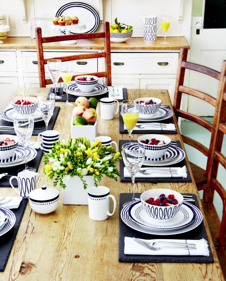Kate Spade Charlotte Street dinnerware collections — style ...