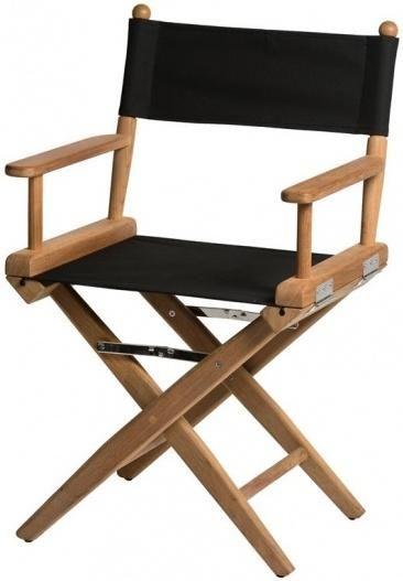 Regisseursstoel I - Canvas - Black - ongeolied - 49 x 57 x 89 cm - ARC Marine