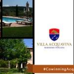 """Cowinning organizza i suoi """"stati generali"""" e sceglie il relais Villa Acquaviva per discutere del futuro del progetto"""