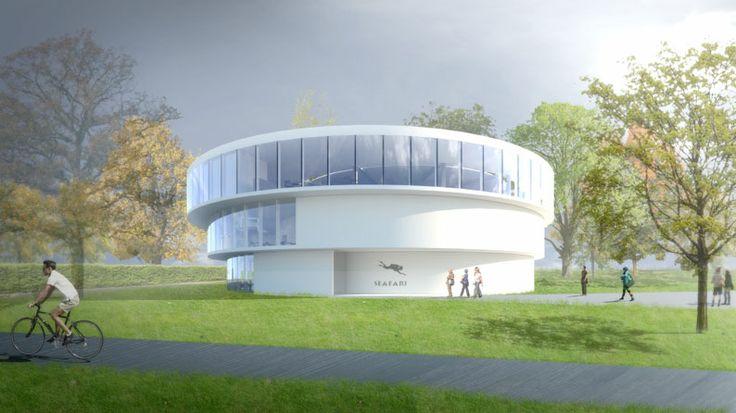 SEAFARI gebouwontwerp door Wiegerinck Architectuur Stedenbouw, Arnhem