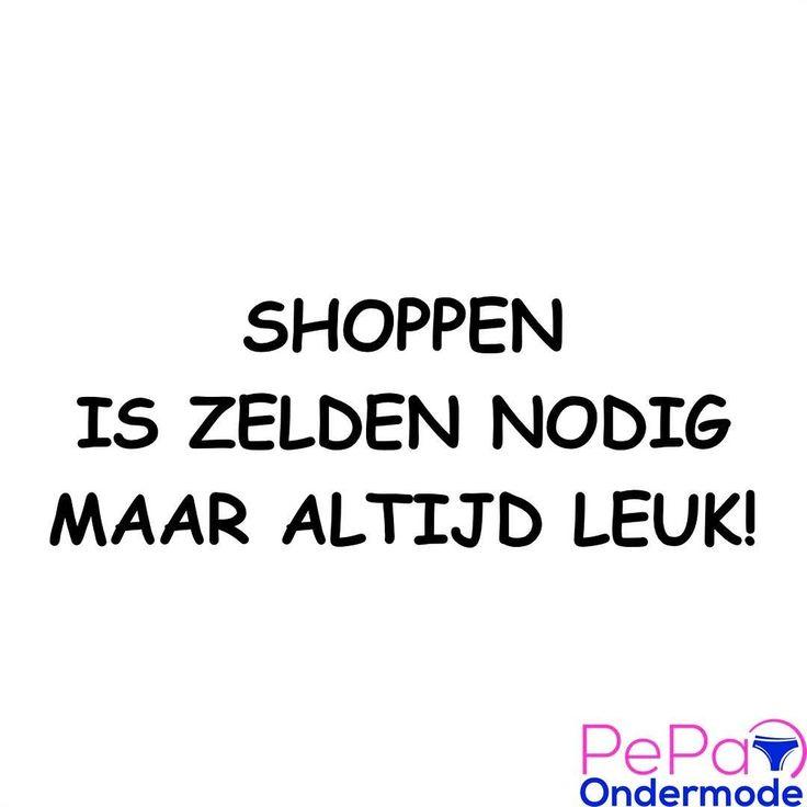 Wie shopt er nou niet terwijl je eigenlijk niks nodig hebt. Dus kom naar de Haagse Markt in Den Haag of naar de Brabantse Turfmarkt in Delft. Je hebt dan wel geen kleding ondergoed pyjama snoep groente fruit bloemen schoenen nodig maar he shoppen is altijd zo leuk.  #pepaondermode #haagsemarkt #denhaag #thehague #behague #haagseharry #brabantseturfmarkt #delft #delftcity #delftmarkt #shoppen #winkelen #quote #leuk #nice #iloveshopping #kleding #ondergoed #pyjama #snoep #groente #fruit…