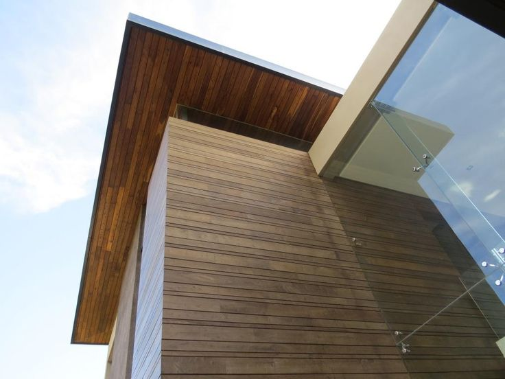 Facade 2. Thai Contemporary fusion home, Cape Town, South Africa. By RennieScurrAdendorff Architects