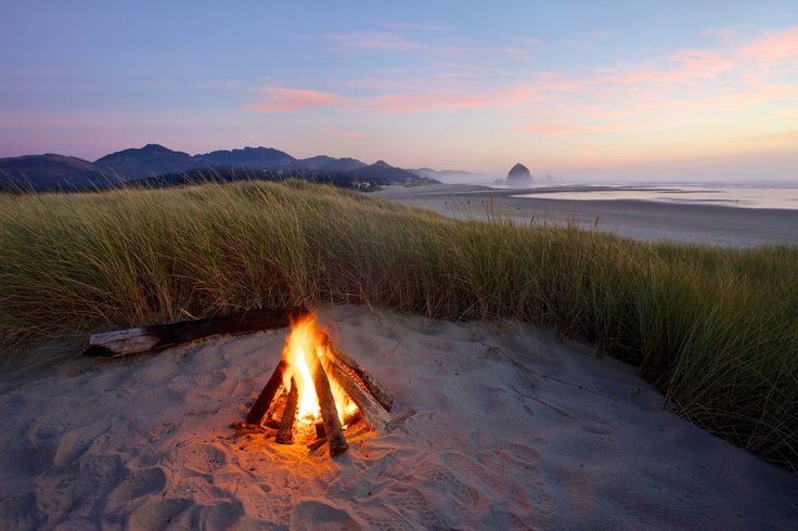 If you want a campsite with an ocean view, here's a few of the best in Oregon.