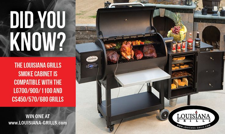WIN THIS cool add-on to your Louisiana Grill by entering our Recipe & Photo Contest