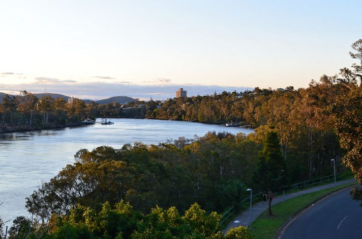 View from the Eleanor Schonell Bridge in St Lucia - The 12WBT Brisbane Travel Guide