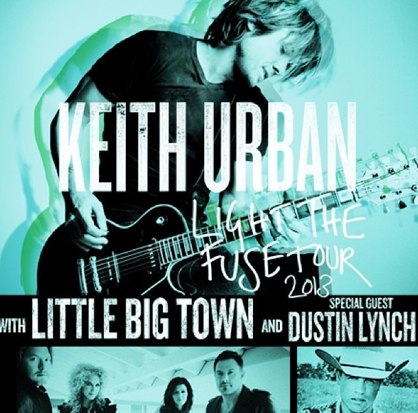 Tickets for @Keith Savoie Urban Light The Fuse Tour are on sale NOW!! www.KeithUrban.net/Tour