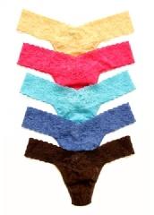 @Hanky Panky Ltd.: 5 Pack Petite Low Rise Thongs $90