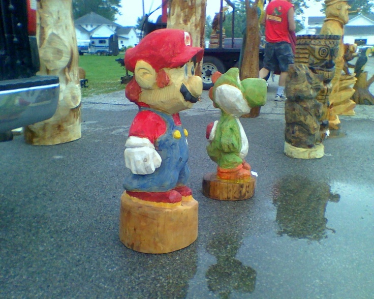 Best chainsaw carvings sculptures images on pinterest