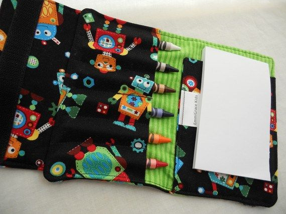 Free Crayon Wallet Tutorial Goes With Printable Mini Coloring Book I Pinned