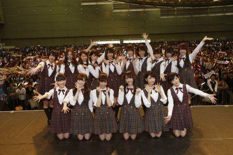 乃木坂46の新曲「気づいたら片想い」発売記念全国握手会の模様
