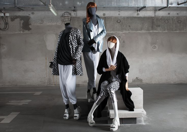 OLD MODERN Collection by More Mannequins #FemaleMannequins #dudzinska #fashion #industrial