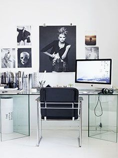 #veronikamaine #office #inspiration #summer13 #desk