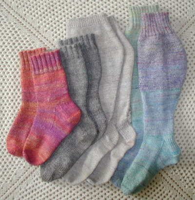 super pattern for any size sock, any size guage, Handspun, handknit socks
