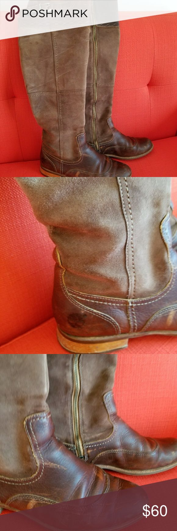 Timberland over the knee vintage boots. Over the knee vintage boots in nice soft leather. Timberland Shoes Over the Knee Boots