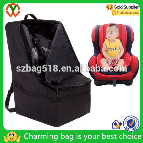 Baby Adjustable Padded Car Seat Travel Bag Backpack For Kids Air