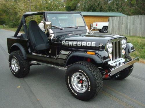 1982 Jeep CJ7 umm yes please :-)