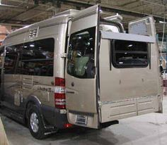 Sprinter camper van with slideout