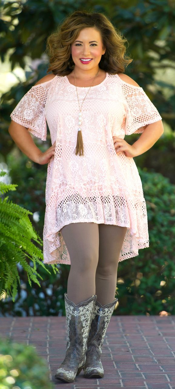 Kick Your Heels Up Tunic - Pink***FINAL SALE*** - Perfectly Priscilla Boutique