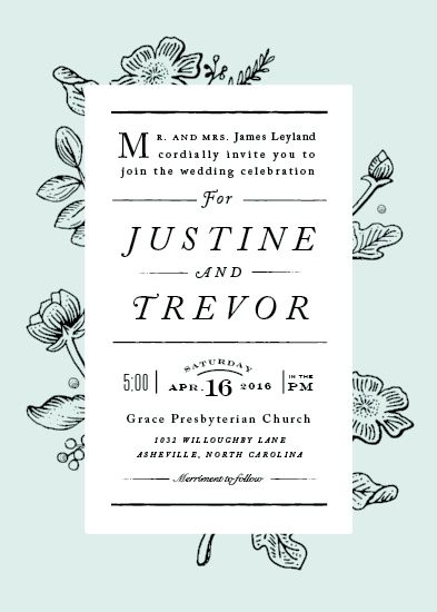 Wedding Invitation Challenge: Special Prize Winners