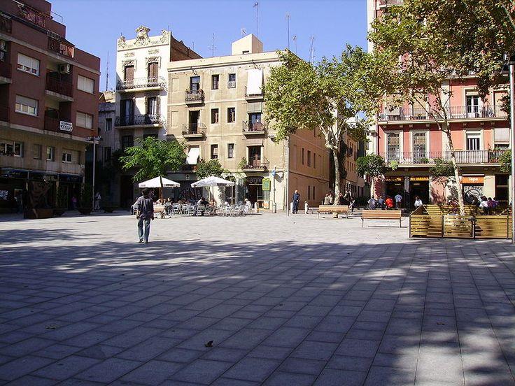 Plaza del Diamante #plaza #barcelona #hotelmurmuri