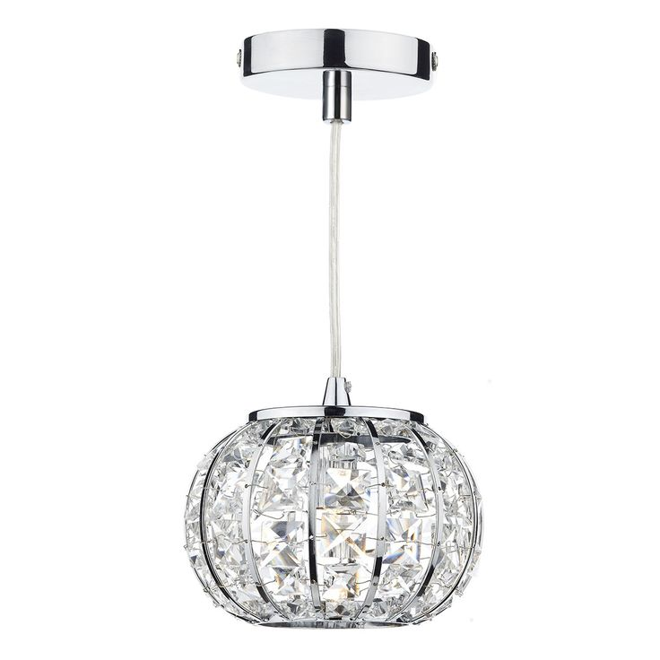 121 best pendant lighting at lighting bug swindon images on rae0150 rae 1 light pendant in polished chrome crystal glass faceted glass aloadofball Image collections