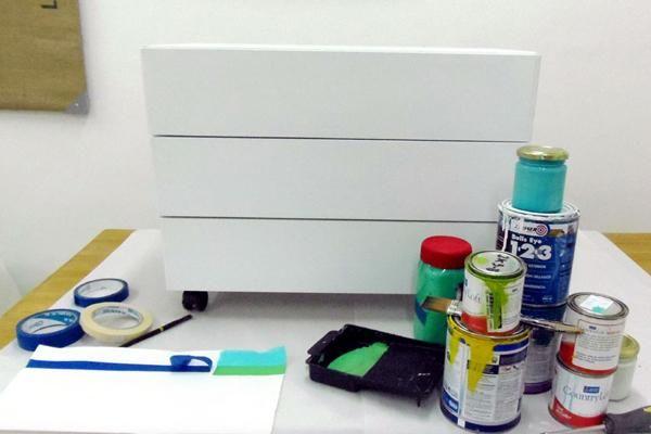 25 melhores ideias sobre pintura em f rmica no pinterest - Pintura para muebles de melamina ...