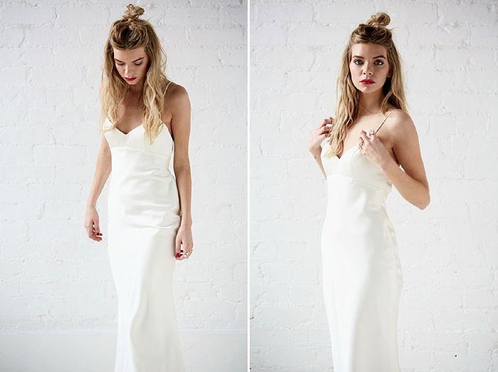 1000+ Ideas About Minimalist Wedding Dresses On Pinterest