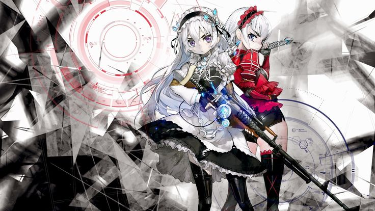 beautiful pictures of chaika the coffin princess, 1920x1080 (502 kB)