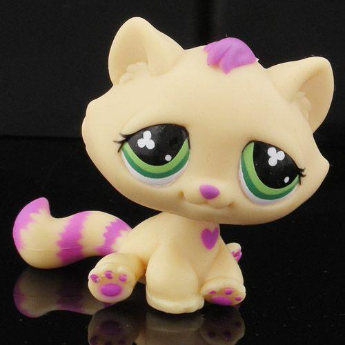 lps | LPS Cat for Sale http://www.ebay.com/itm/RARE-Littlest-Pet-Shop-Purple ...