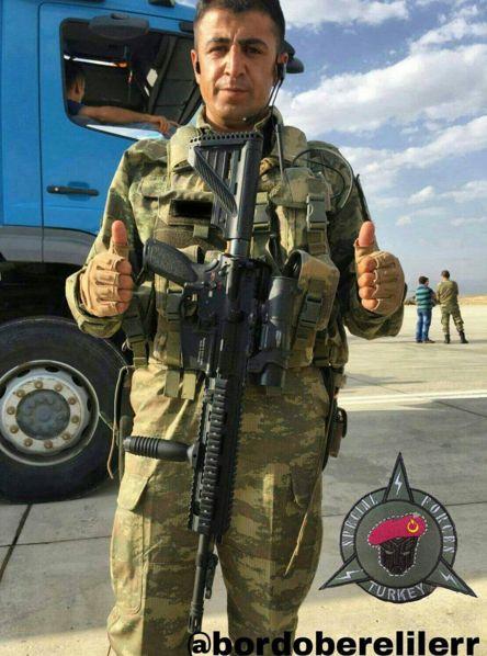 Turkish #Special #Forces #Command #Bordo #Bereliler #ÖZKK #Martyred #Caner #Egemen #Çelik #RIP