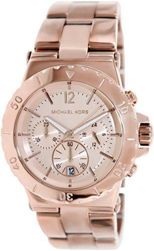 Michael Kors Mk5314 - Reloj de mujer de cuarzo, correa de acero inoxidable color oro Michael Kors