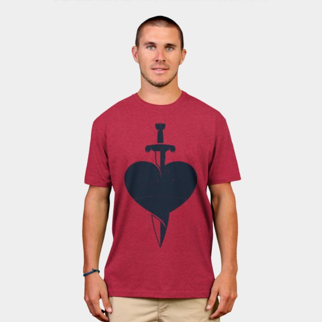 Made of honor. #designbyhumans #madeofhonor #gameofthrones #gothic #medieval #love #heart #fantasy #sword #tshirt #tshirtdesign #apparel #menswear