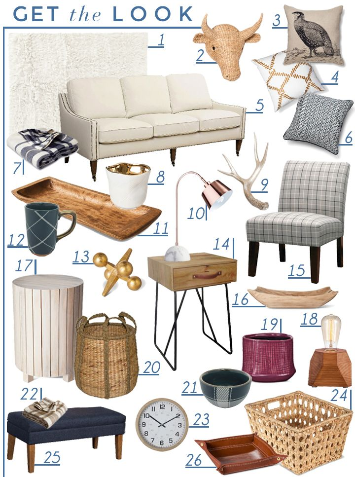 Let's Get Cozy - Fall Style at Target - Emily Henderson